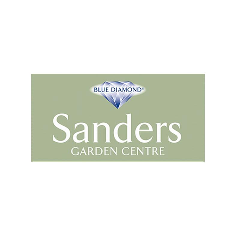 sanders garden centre Logo